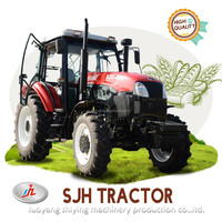 SJH110HP 4wd Farm Tractor can Matched All agricultural Implements