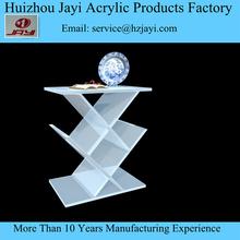 JAYI personalizado montado moderno rectangular acrílico del plexiglás/mesa de centro para la venta