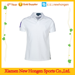 mesh fabric or pique fabric design your own logo polo t shirt plain white
