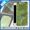 C&T New products 2015 clear green palm printing hard case for iphone 6