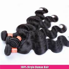Top Quality Factory Wholesale Machine Made Human Hair Extension/ Wefts