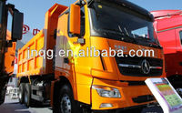 lorry truck 6x4 north benz V3 tipper 10 wheels right hand drive