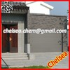 colorful plain panel insulated villa of steel garage gate