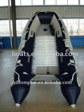 hh330 speed drifting sport inflatable boat with 10hp engine