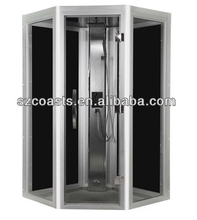 Comfortable home use Steam glass shower room
