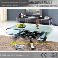 Best quality Cheapest modem glass top coffee table