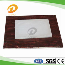 Building Material Wood grain lightweight fireproof mgo wall panel