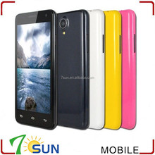 cellular Unlocked 4.5'' Android 4.4.2 MTK6582 Quad Core AT&T WCDMA Smartphone W330