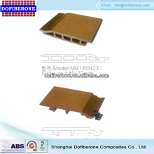 Top products new design wooden composite outdoor external wall cladding
