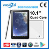 Wopad 10 inch tablet pc A31s Quad-Core tablet with Android 4.4