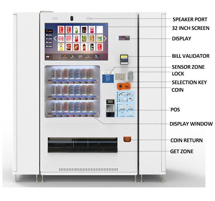 vending machine water bottles