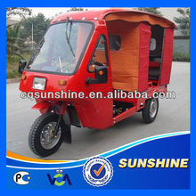 Promotional Fashion 6 passenger tricycle with cover