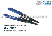 ANSHI Fiber optic Ratchet Crimping Insertion Tool