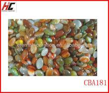 colored nanatural pebble stone natural small pebbles