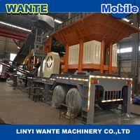 Low power Jaw crusher series mobile crushing plants, portable stone crusher plant