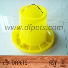 Plástico alimentador automático para galinhas 3kgs DFF006