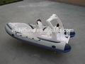 2015 la fábrica de china de velocidad rígido barco inflable barco barco de la costilla pequeños botes de fibra de vidrio