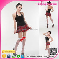 High quality private school sexy girls costume
