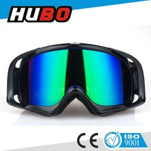 Adult fashionable TPU frame hot sale racing motorcross goggles
