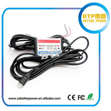 new prodcut car accessories car black box power adapter for car data video recorder continuous power supply