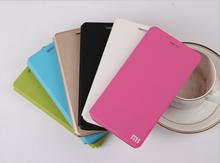 xiaomi mi4i flip leather case,for xiaomi mi 4i phone case
