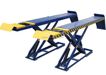 Qingdao used car lift for sale /bare lifts/in-ground scissor lift with CE