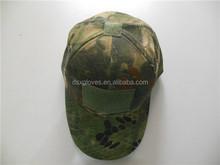 Fashion polycotton military army baseball caps