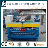 Russia popular C8 roofing tiles making machine roof and wall panels cold roll forming machine