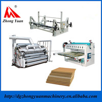 DW Series Single Face Paperboard Corrugated Box Making Line Machine Price