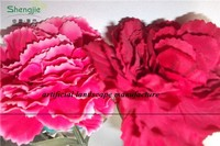 SJZJN 010 Colourful Artificial Carnation Made in China hot sale in 2015