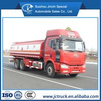fuel tank for truck/fuel truck capacity FAW 25000L gasoline oil tanker truck
