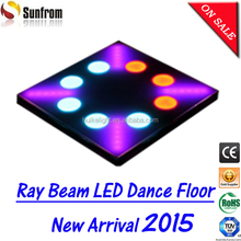 Hotel passangeway use amazing led dance floor mat