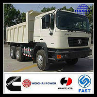 Shaanxi china tipper trucks for sale more welcomed than nissan diesel dump truck