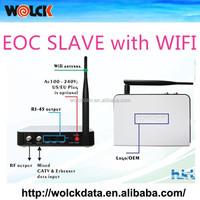 Popuplar for CATV/IPTV Solution with wifi EOC SLAVE