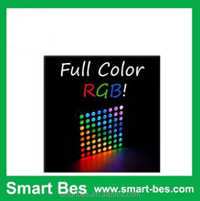 Smart Bes~ 8x8 Matrix RGB LED Common Anode Diffused Full Colours,7 segment common anode,common anode led 3mm