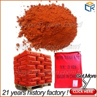 Factory price iron oxide red 130 (ci 77491) and 120 fe3o4/fe2o3/fe203 for pavers/tiles/wood mulch/colorant dye
