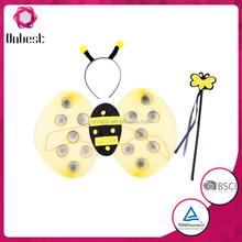 economico porcellana fatte a mano di halloween costume fata ali costume ali di farfalla ali delle api