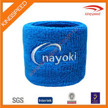 Available in Neon Colors - Athletic Cotton Terry Cloth custom sports Wristbands