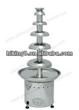 New 4-Tier Stainless Steel True Commercial Chocolate Fondue Fountain