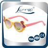 bowknot decoration dots print uv400 children sunglasses