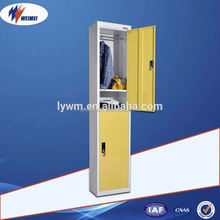 2 Door Locker with suitcase Storage Space, Metal Marine Locker for Offshore ships