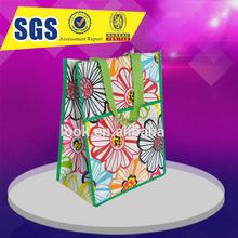 custom foldable shopping lamination nonwoven bag GL321