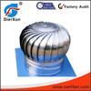 Wind driven powerless roof ventilator