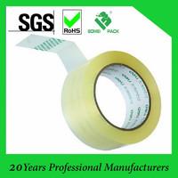 Low noisy waterproof clear tape