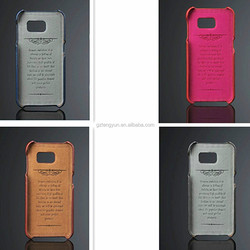 Original Newest Come Out PU leather back case for Samsung Galaxy S6