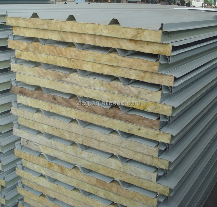 Rockwool Insulated Metal Roof Sandwich Panel Buy Roof