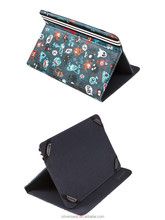 """Silver HT Exclusive Design 7"""" Printed Universal Tablet Cover Case"""