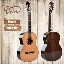 39 pulgadas estándar alta calidad español guitarra clásica y cuerdas de nylon de guitarra
