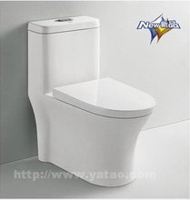 YATO sanitary ware toilets S-trap 300mm siphonic one piece toilet