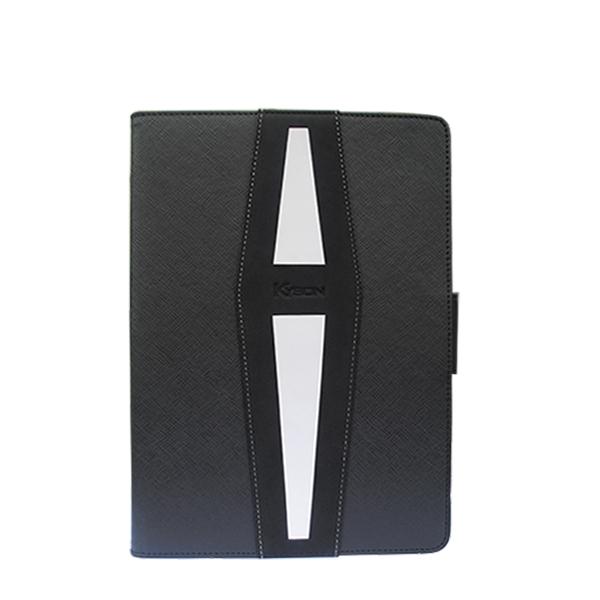 For iPad Air 2 fashion black leather case